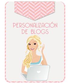 Yo personalizo mi blog con: