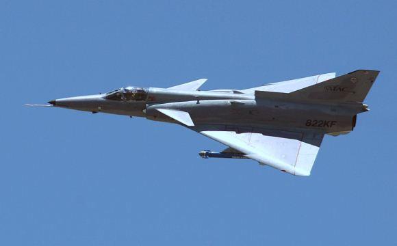 Jet Tempur Kfir buatan Israel