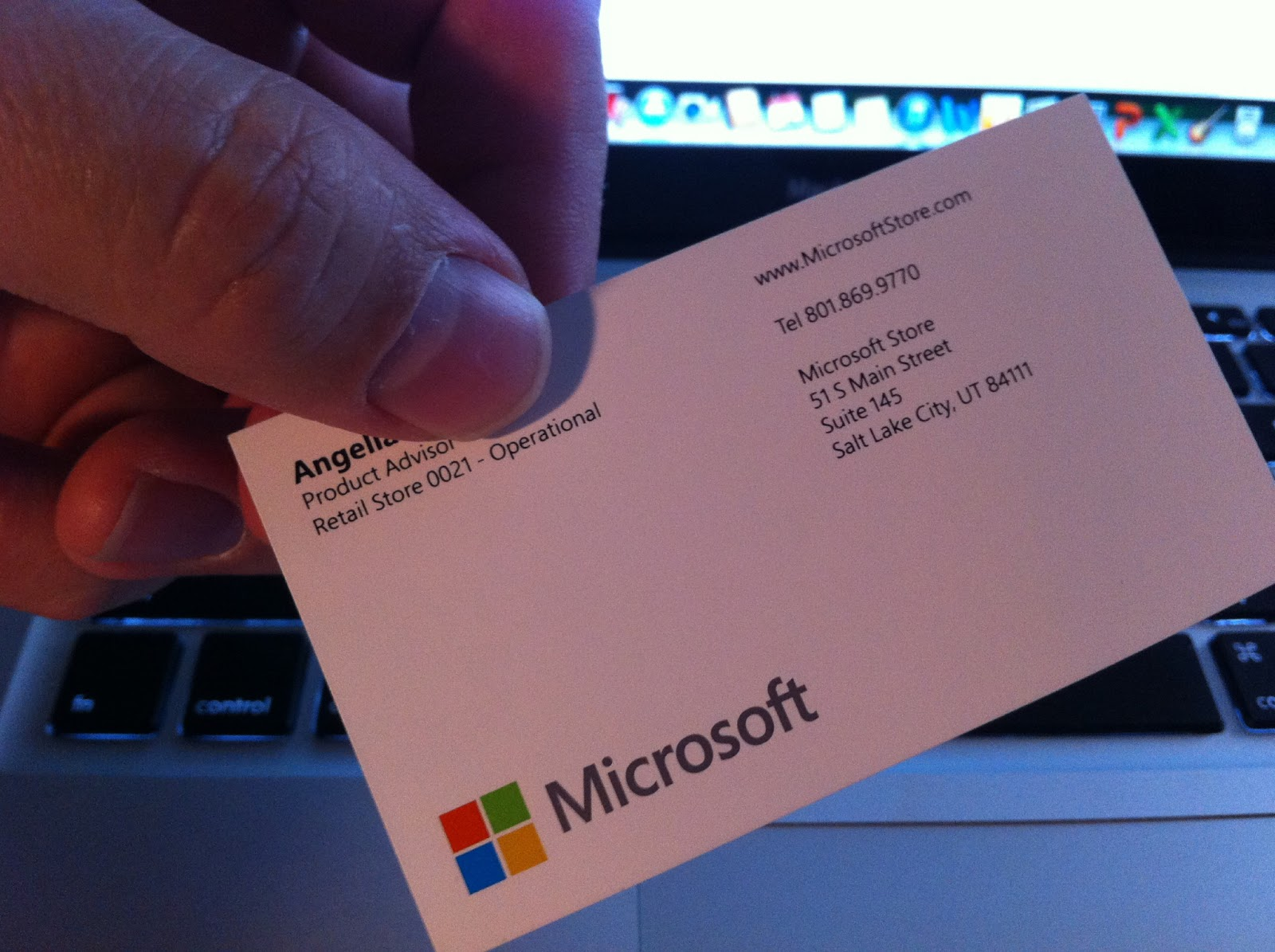 Charming Business Card Microsoft Ideas - Business Card Ideas ...