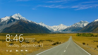 Windows 8 - background