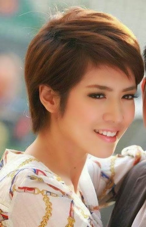 Very Short Hairstyles Pictures by asian female for 2014 with http://riariaw.blogspot.com/.