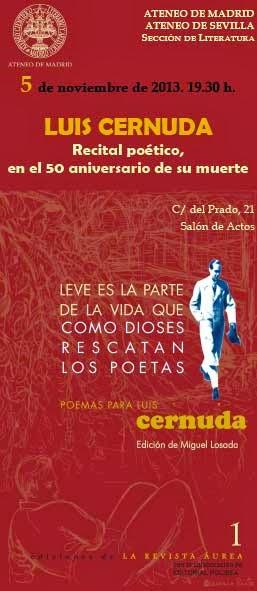Homenaje a Luis Cernuda, Literaturas Hispánicas