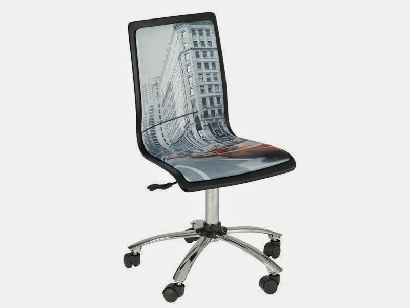 Silla decorada escritorio, silla ruedas escritorio