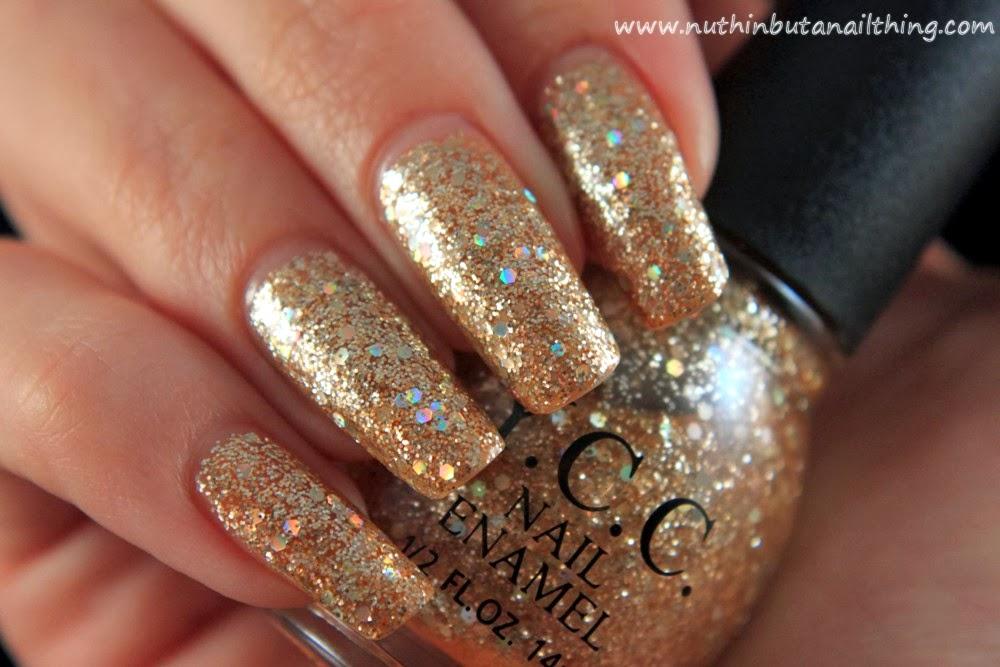 Ycc 87 Gold Glitter