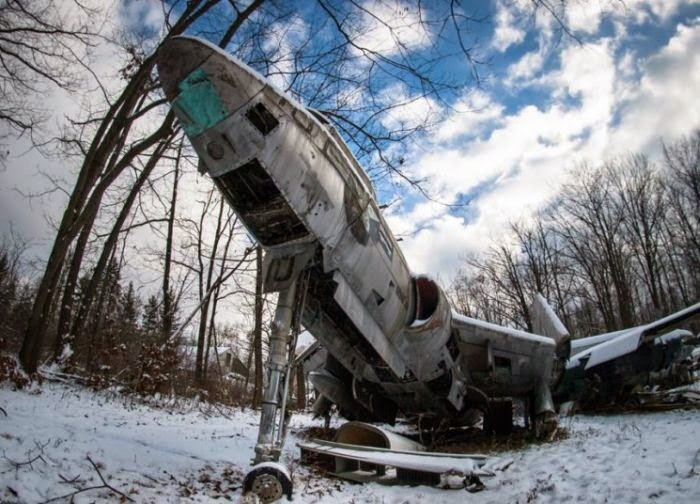 World Of Mysteries Epic Abandoned Wwii Fighter Planes 15