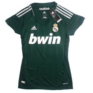 Ladies Jersey Real Madrid Away Third 12/13