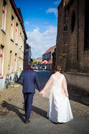 Dank je wel bruid voor de foto!