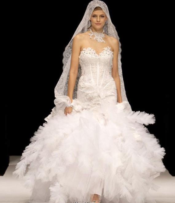 Couture Wedding Dresses And Bridal Gowns: Puffy White Wedding Dress Designs