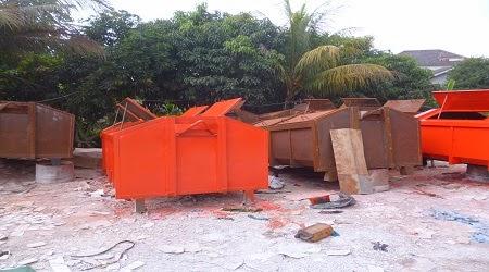 kontainer sampah kebersihan