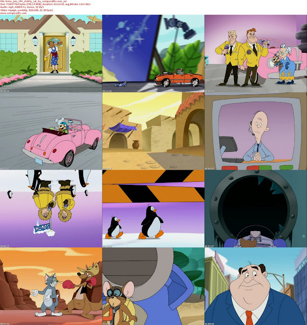 Tom y Jerry Rapidos y Furiosos DVDRip Español Latino Descargar 1 Link [Ver Online]