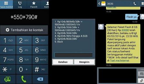 Paket Internet Murah Telkomsel 2016 8GB Hanya 50 Ribu