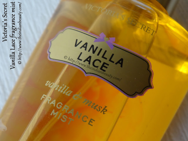 victoria's secret vanilla lace body mist review