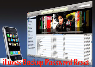 itunes backup password reset