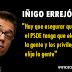 """Iñigo Errejón: """"El PP y el PSOE nos han hecho perder 40 días, pero se rompe el impasse"""""""