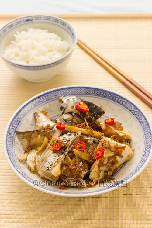 XO醬蒸三文魚頭 Steamed Salmon Head with XO Sauce01