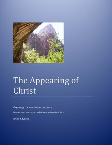 THE APPEARING OF CHRIST by Brian Kelson