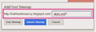 Tips Cara Mengirim dan Menguji Sitemap ke Web Master Google, Tips Seo, Tips Blog