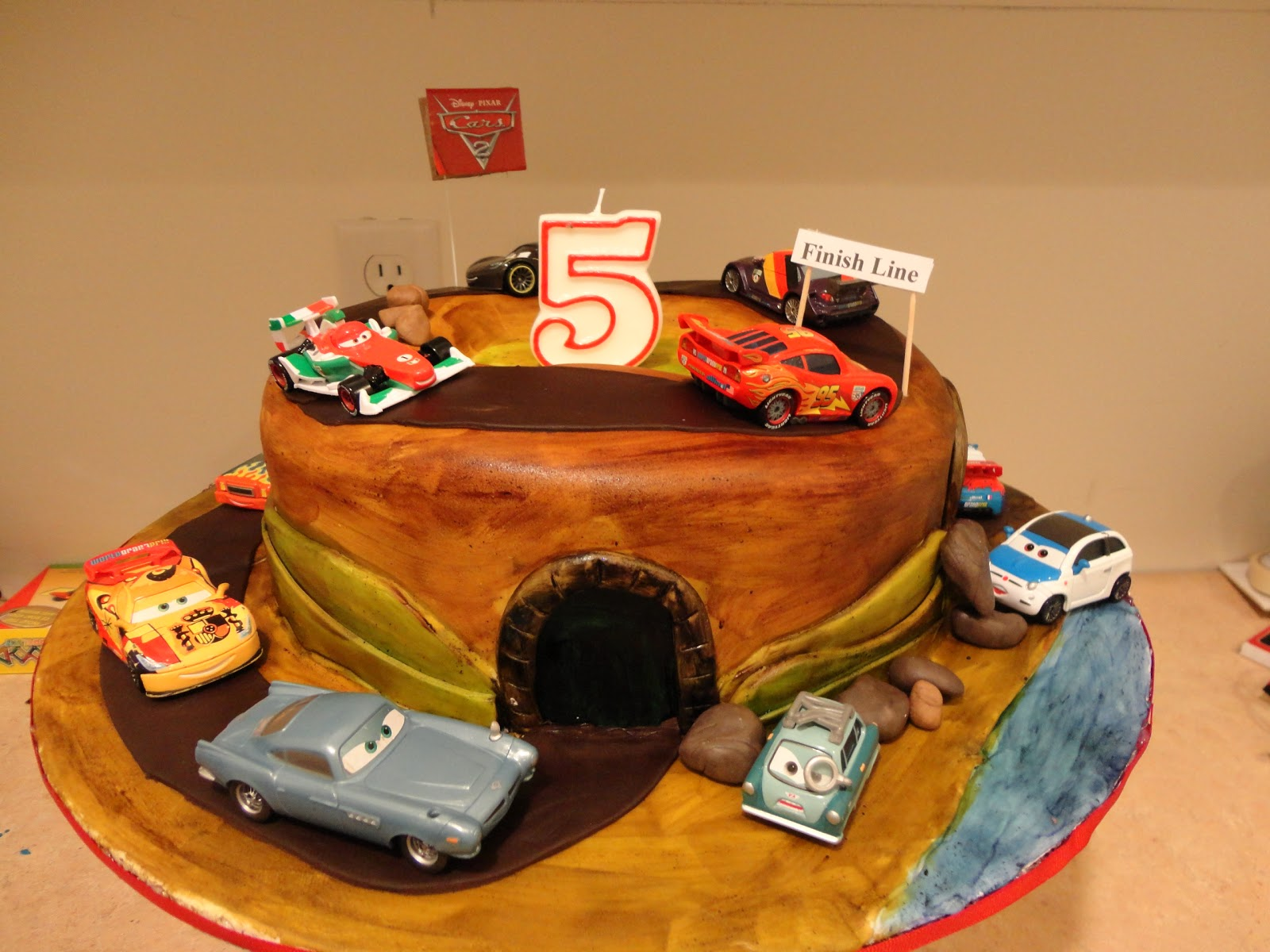 Cars  Cake - Birthday cake cars 2