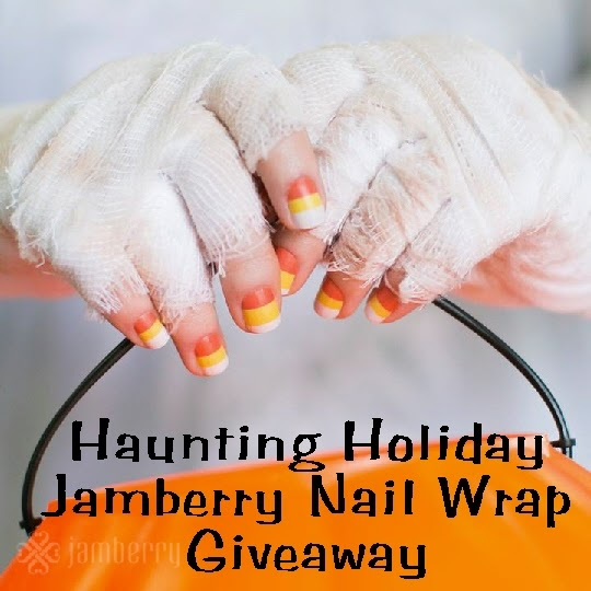Be the Ghostess with the Mostess Jamberry Nail Giveaway