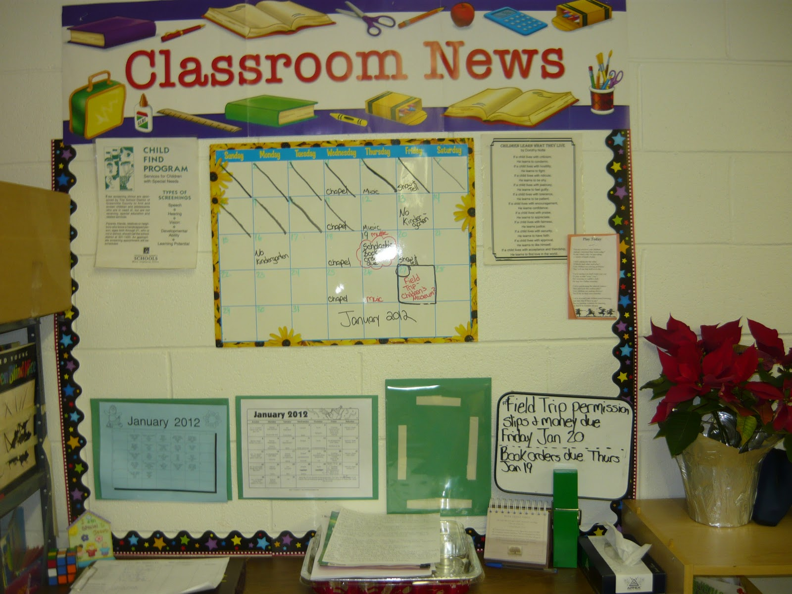 Melissa\'s World: My classroom- Big ideas in a small space