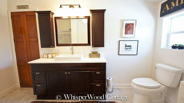 Whisperwood Cottage Before Amp After Eclectic Master Bath
