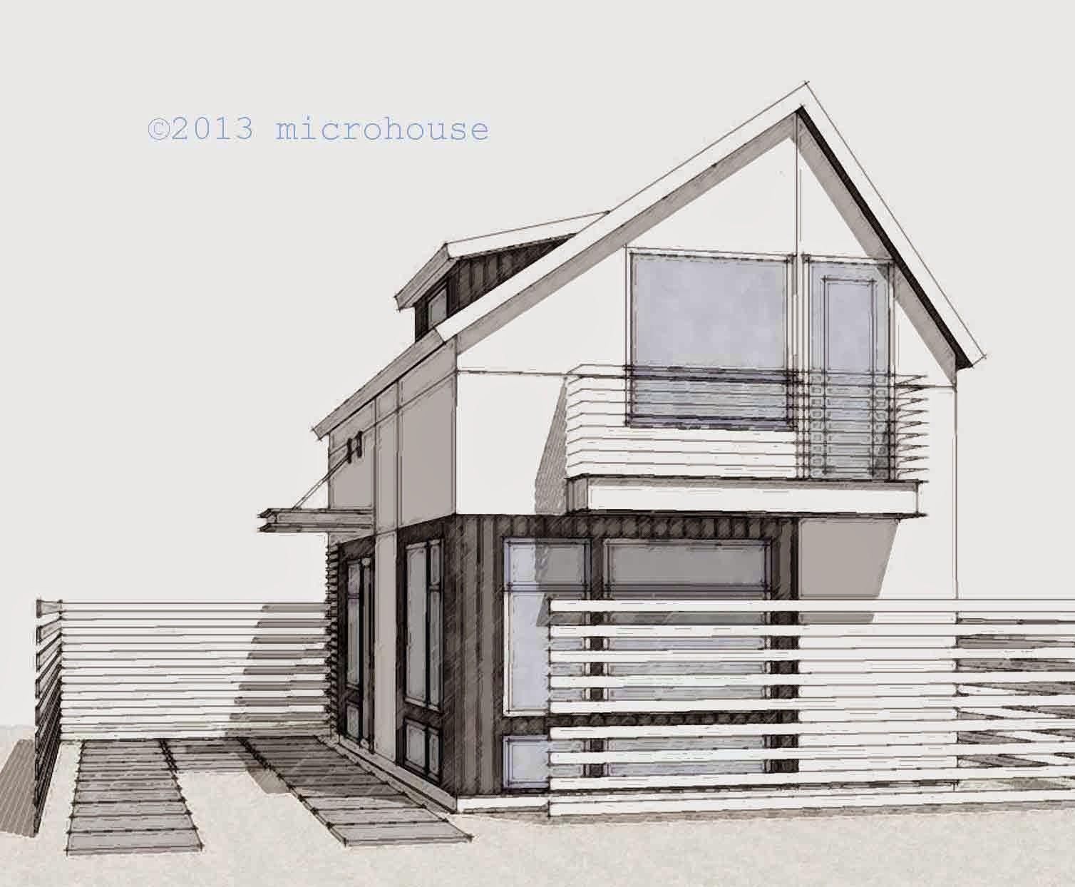backyard cottage, microhouse, dadu, backyard cottages