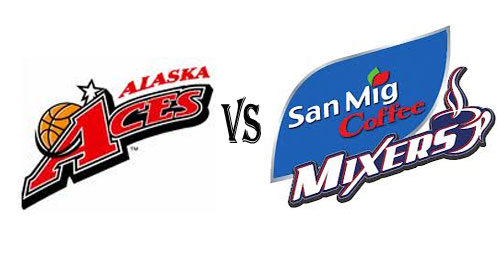 Watch Alaska Aces vs San Mig Coffee Mixers Live Stream