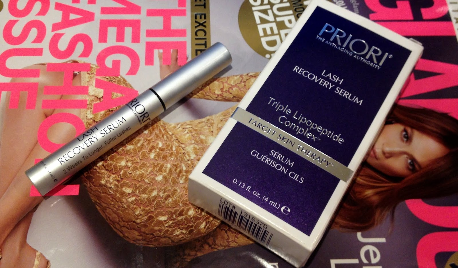 PRIORI Lash Recovery Serum Review