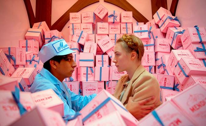 Inspiración rosa Saorise Ronan Gran Hotel Buadpest