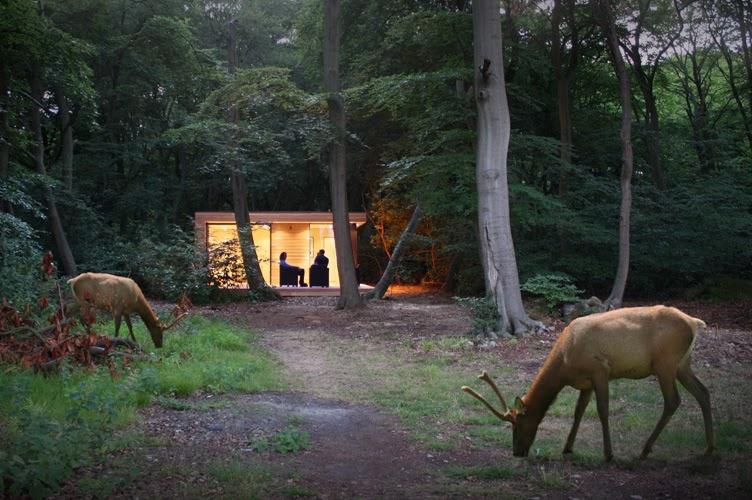 Casas minimalistas y modernas cabana compacta moderna for Cabanas para jardin