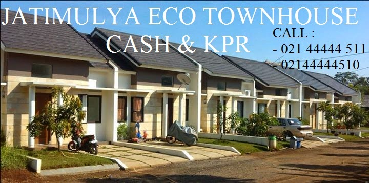 Rumah Dijual Lokasi Depok Jatimulya EcoTwownhouse