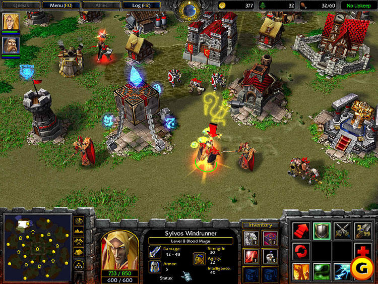 Download Game PC Ringan Warcraft III Full Version