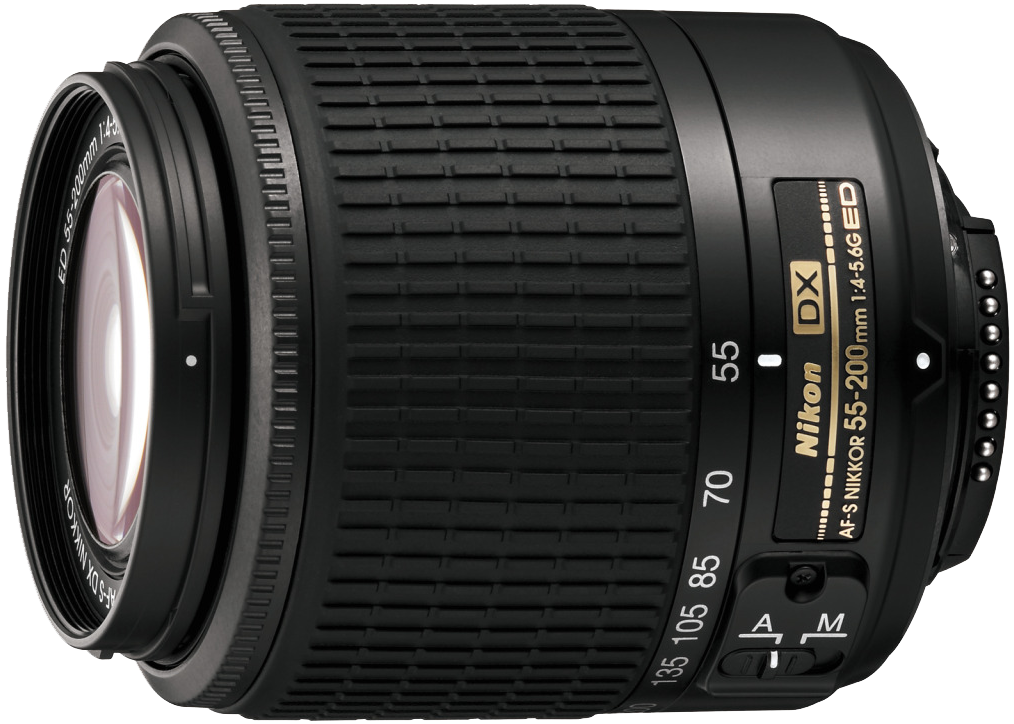 Nikon 55-200mm f4-5.6G IF-ED AF DX VR Nikkor Zoom Lens