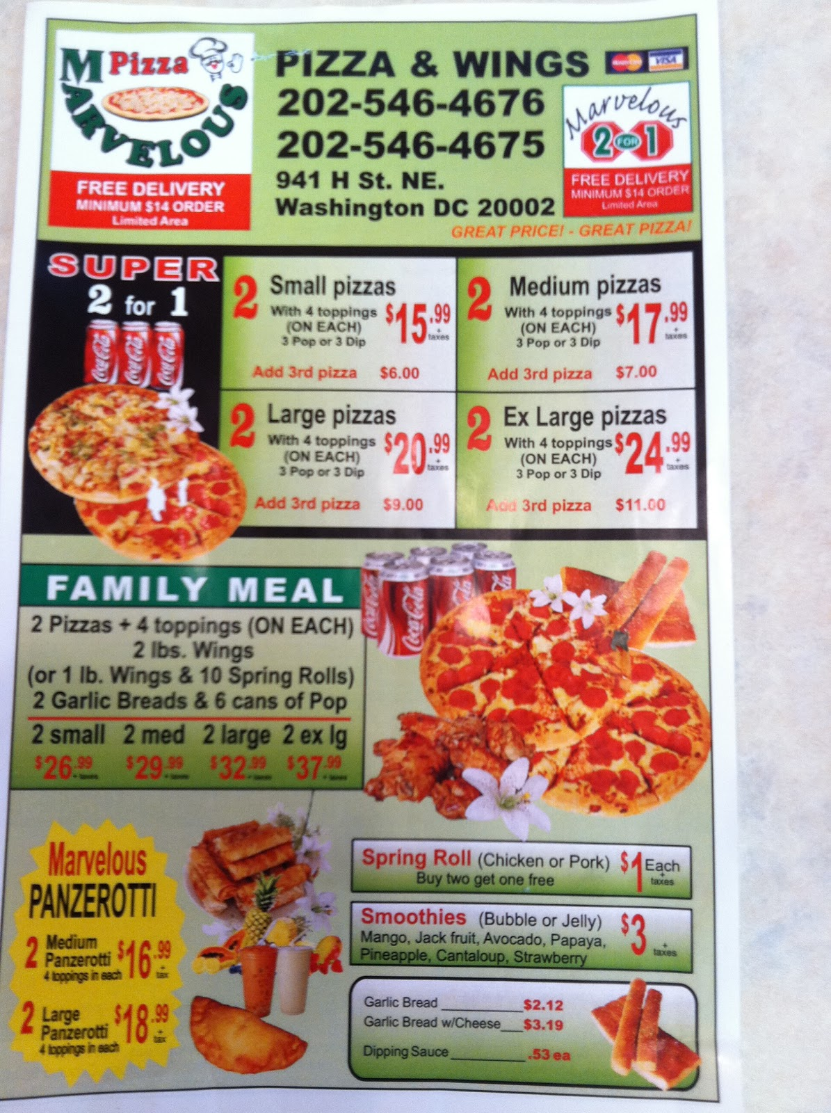 Ynot pizza kempsville coupons