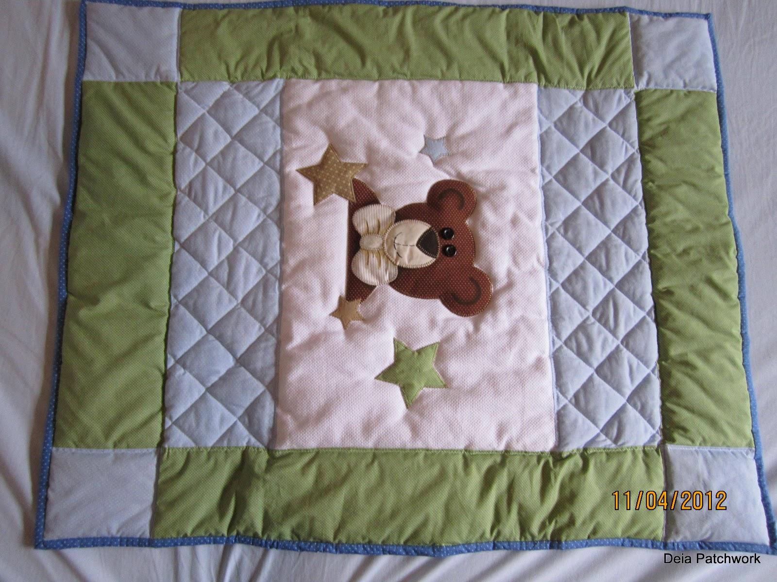 edredon beb patchwork