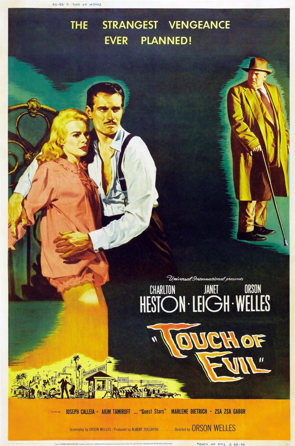 Esculpiendo el tiempo: Sed de mal (Touch of Evil, 1958) de ... Touch Of Evil