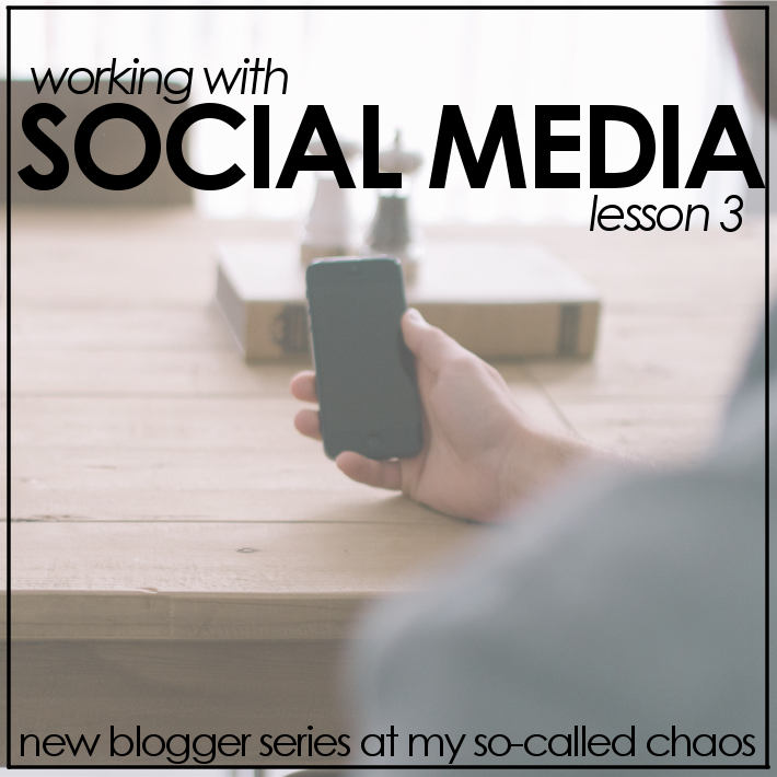 New Blogger Series: Social Media
