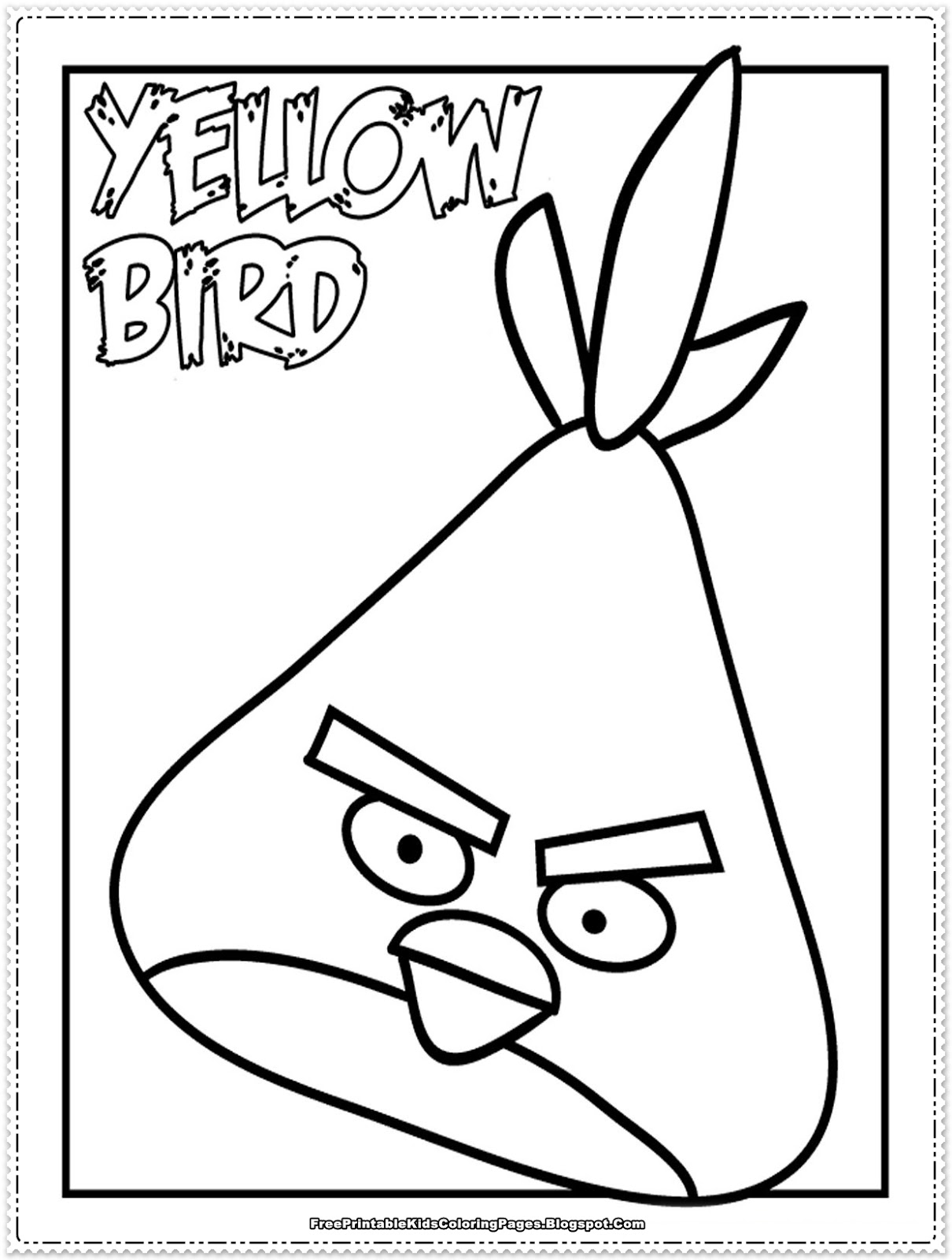Free Coloring Pages Of Blackbird