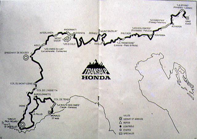 Plus de 3000 kms avec plus de 1000 kms de pistes ou chemin muletiers ....