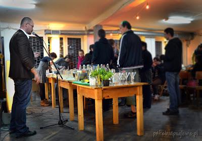 Warszawa Powiślenia Solec wódka Baczewski Aleksander Baron drinki pokaz Julian Karewicz