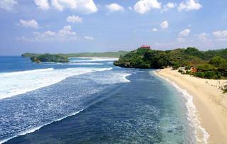 Foto Pantai Ngliyep