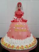 Muslimah Doll Cake