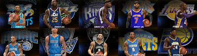 NBA 2K13 Updated NBA Team Logos Mod