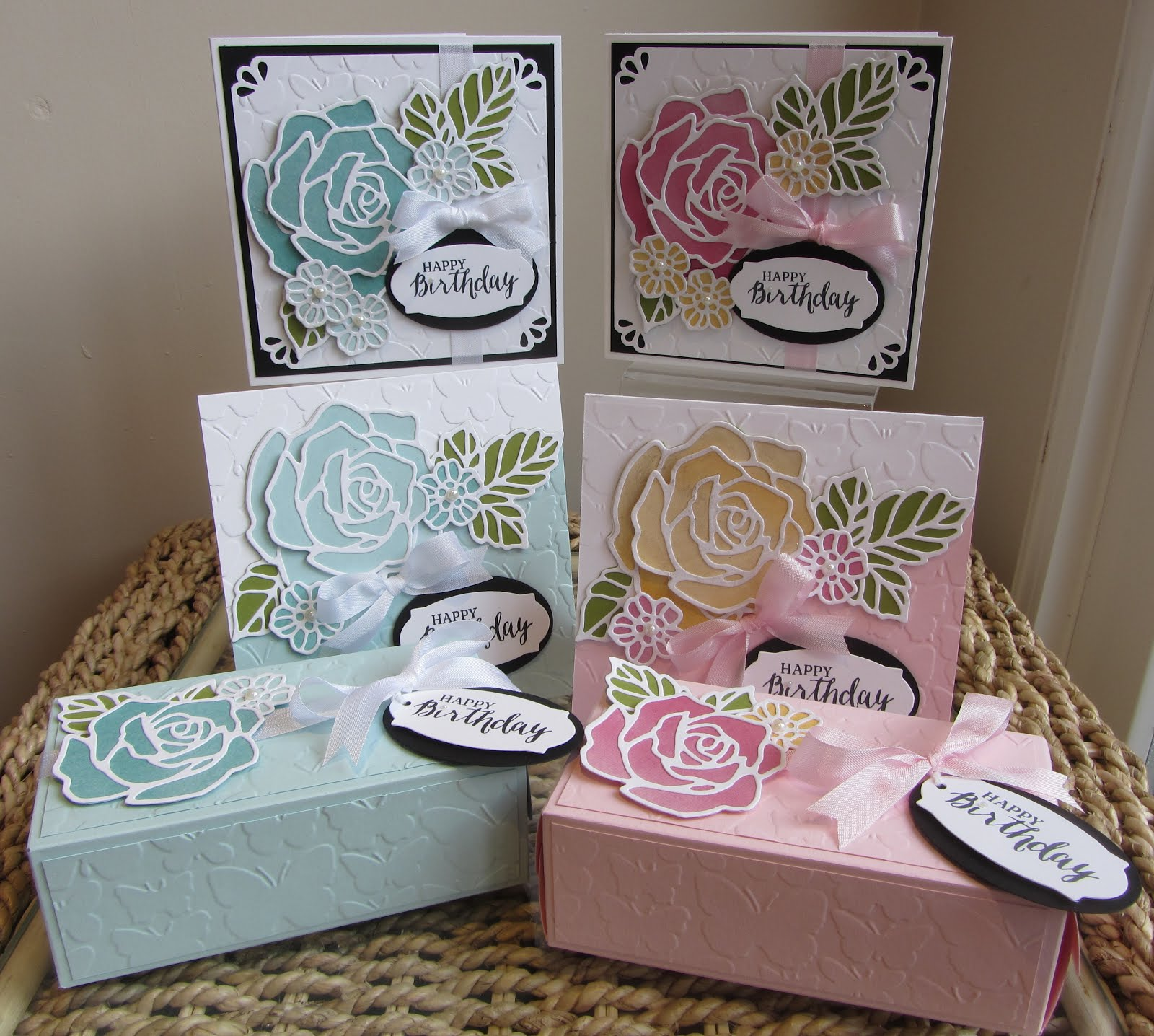 Rose Wonder/Rose Garden Stamp Class