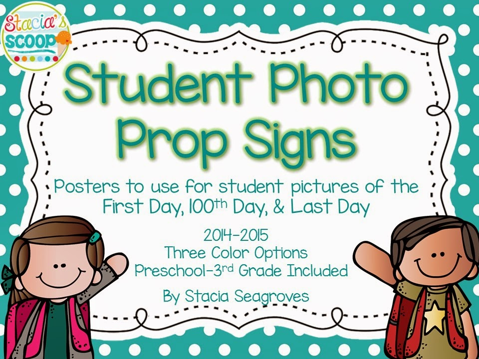 http://www.teacherspayteachers.com/Product/First-Day-of-School-Signs-Student-Picture-Photo-Props-Freebie-1395241