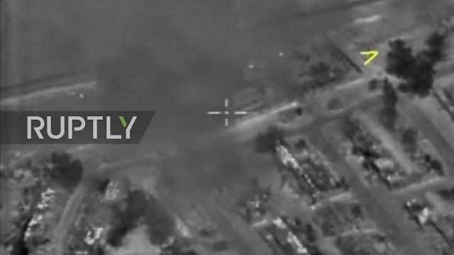 Η Ρωσία βομβάρδισε αυτοκινητοπομπές τρομοκρατών του ISIS- Πάνω από 80 νεκροί [Βίντεο]