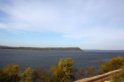 Lake Pepin in the Mississippi River