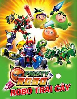Robo Trái Cây - Fruity Robo