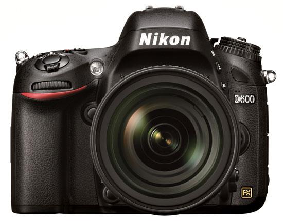 Nikon D600 vs. Nikon D3X