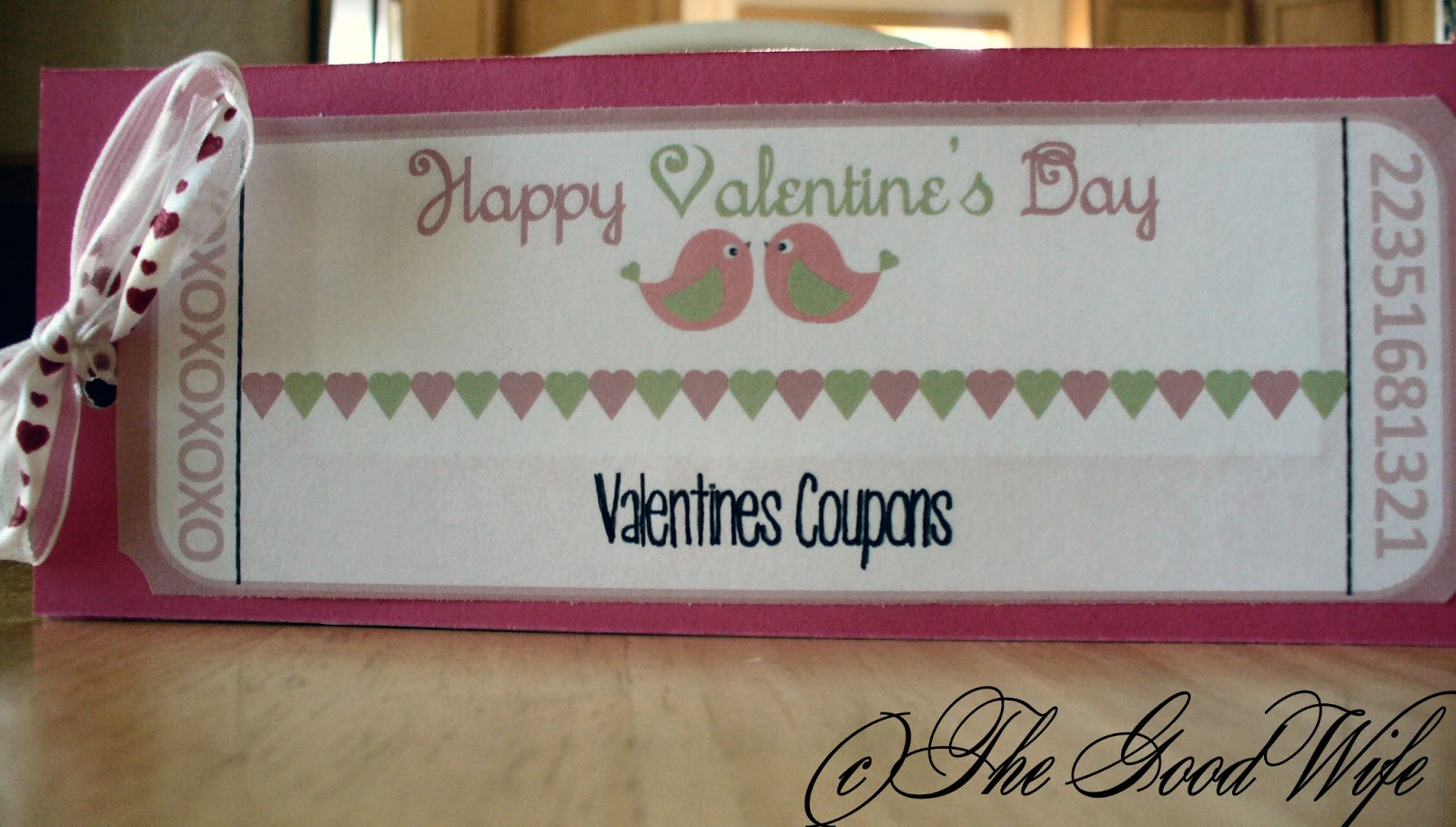 the good wife homemade valentine coupons and a printable